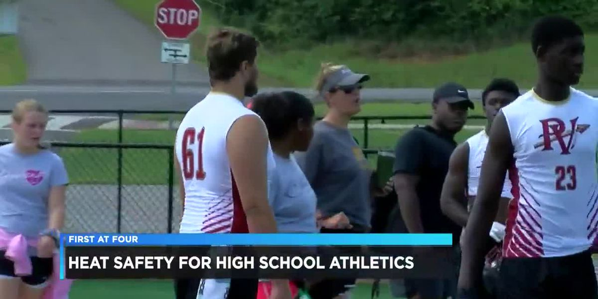 Heat safety tips for high school athletes