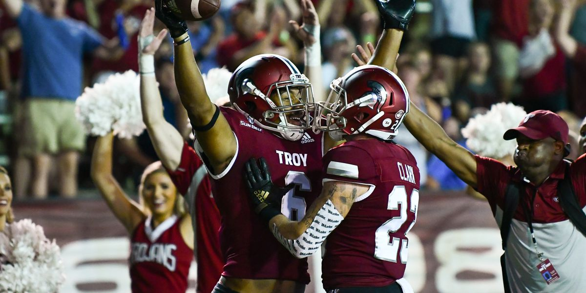 Troy looks to bounce back against Akron