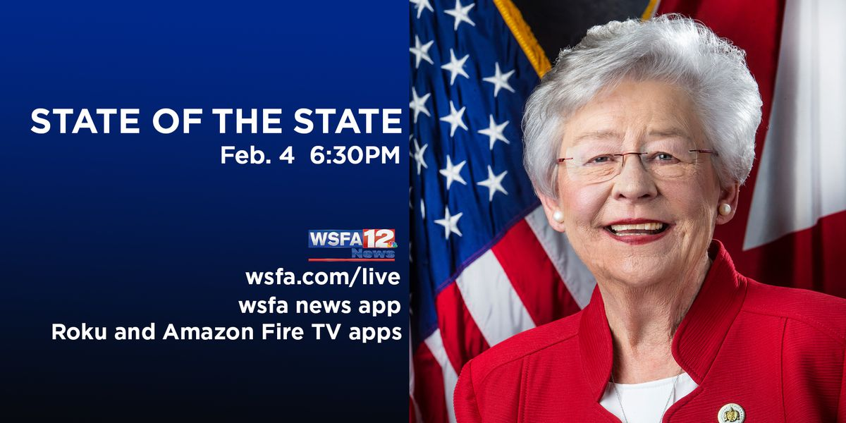 LIVE: Gov. Ivey's 2020 State of the State Address