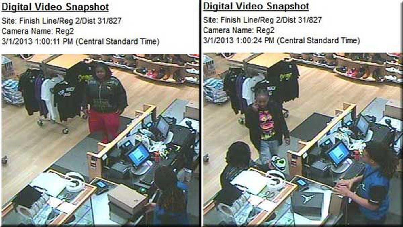 hot sale online dc46f 144d1 Two wanted for allegedly using stolen credit card at Montgomery Finish Line  location