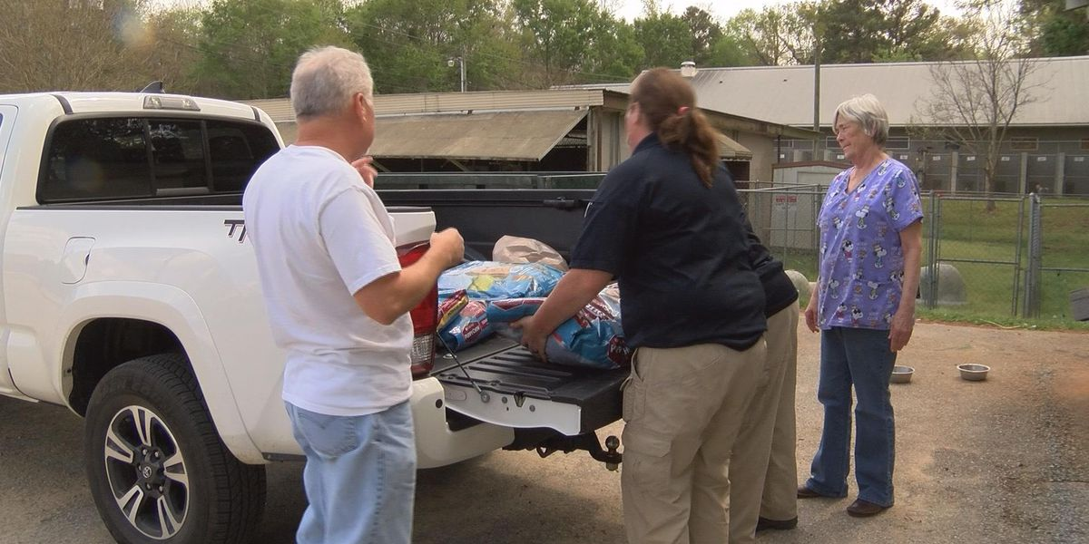 Dothan police, community donate to help 64 dogs rescued Friday
