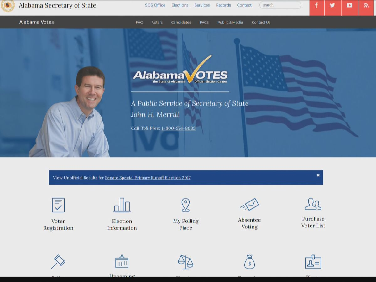 Alabama hits 1 million electronically registered voters