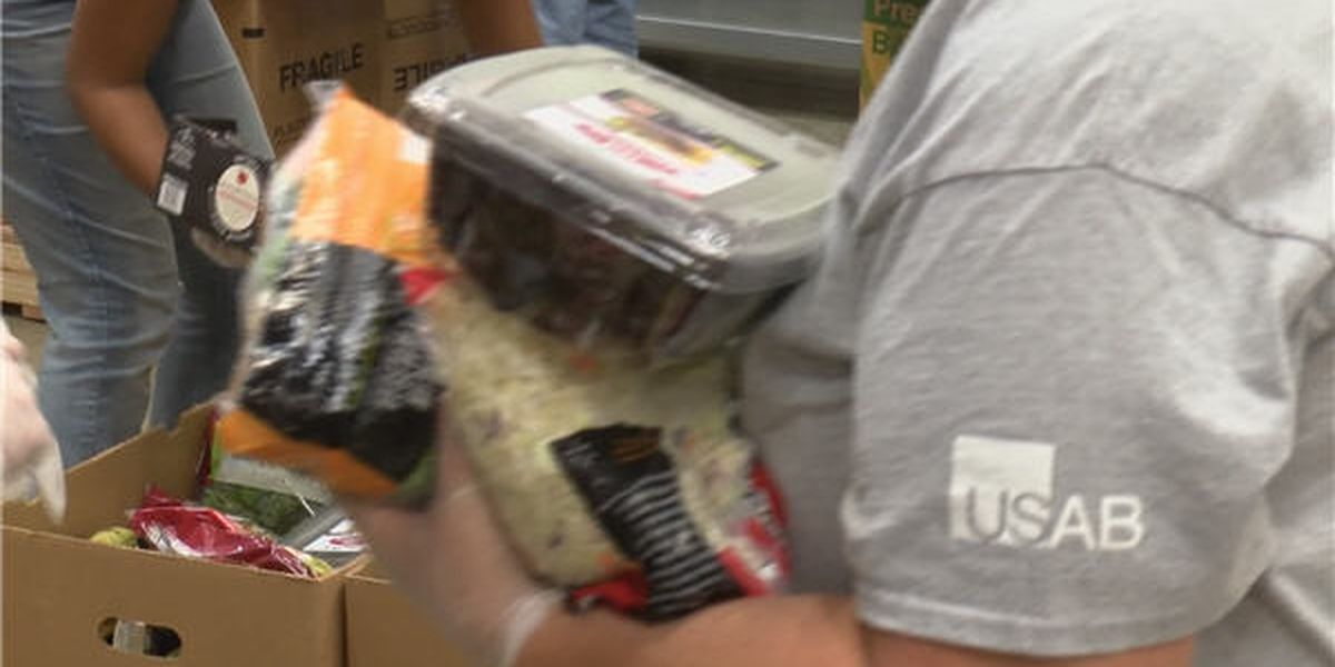 12's Day of Giving donations benefit area food banks