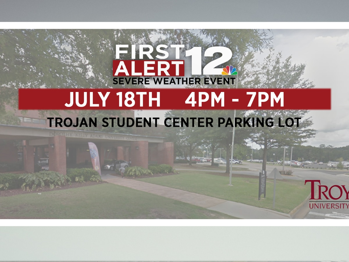 WSFA 12 News hosting First Alert Severe Weather Event in Troy
