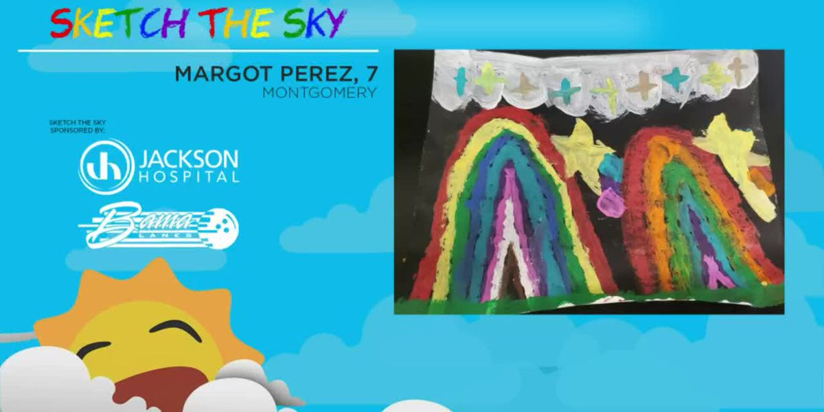 Sketch the Sky winner: Margot Perez