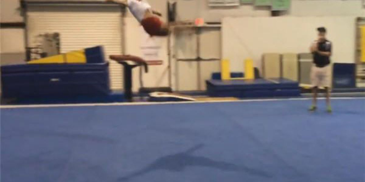 Montgomery gymnasts look to Olympics for inspiration