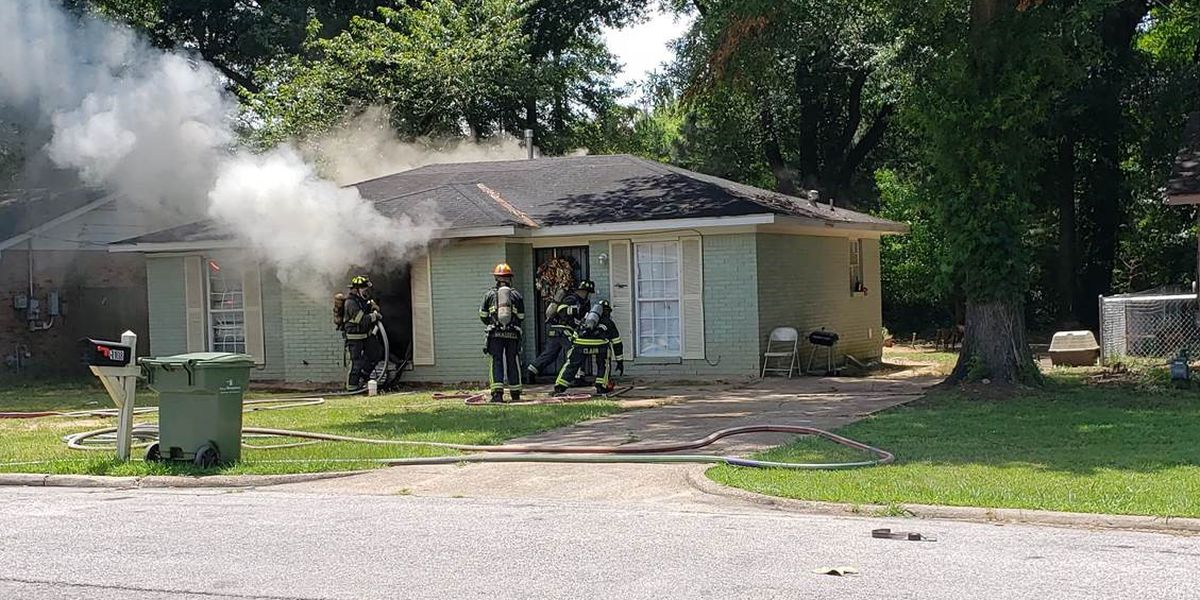 Montgomery house fire possibly arson