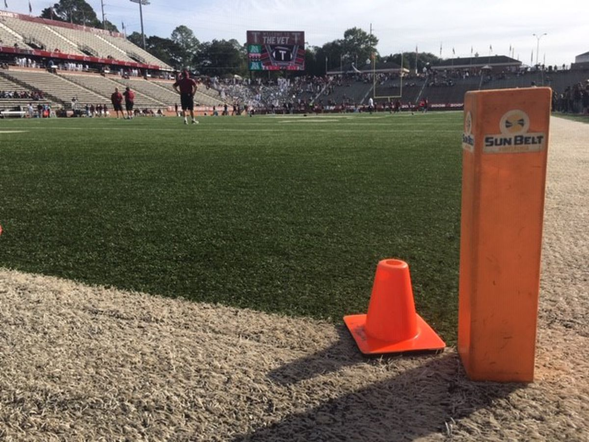 Troy Trojans prep for tough test against App State