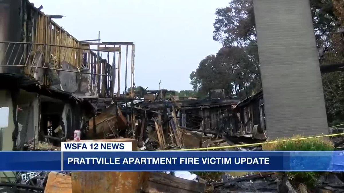 Prattville apartment fire victim loses everything