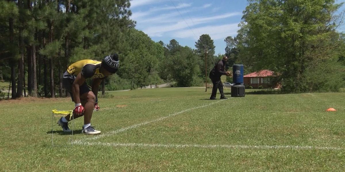 No Field, No Problem for Dadeville's Josh Taylor