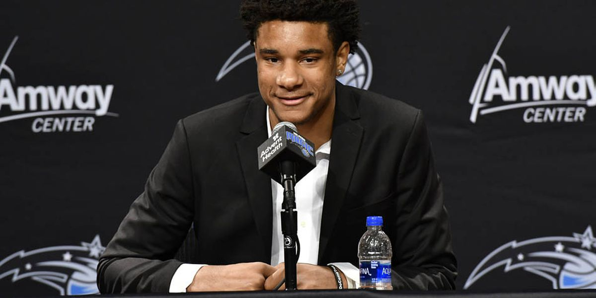 Chuma Okeke introduced by Orlando Magic