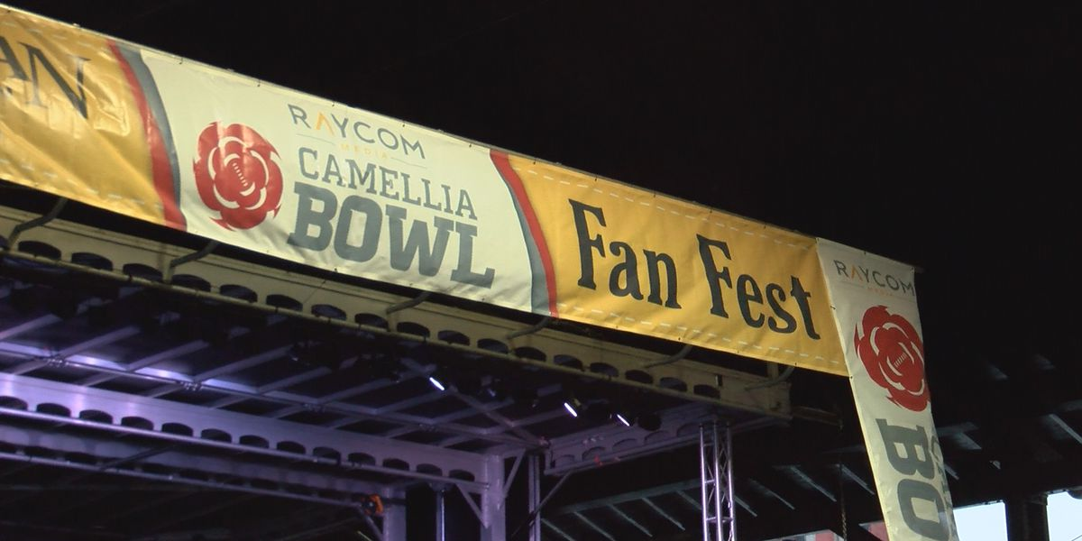Fans from both sides pour in for Camellia Bowl pep rallies