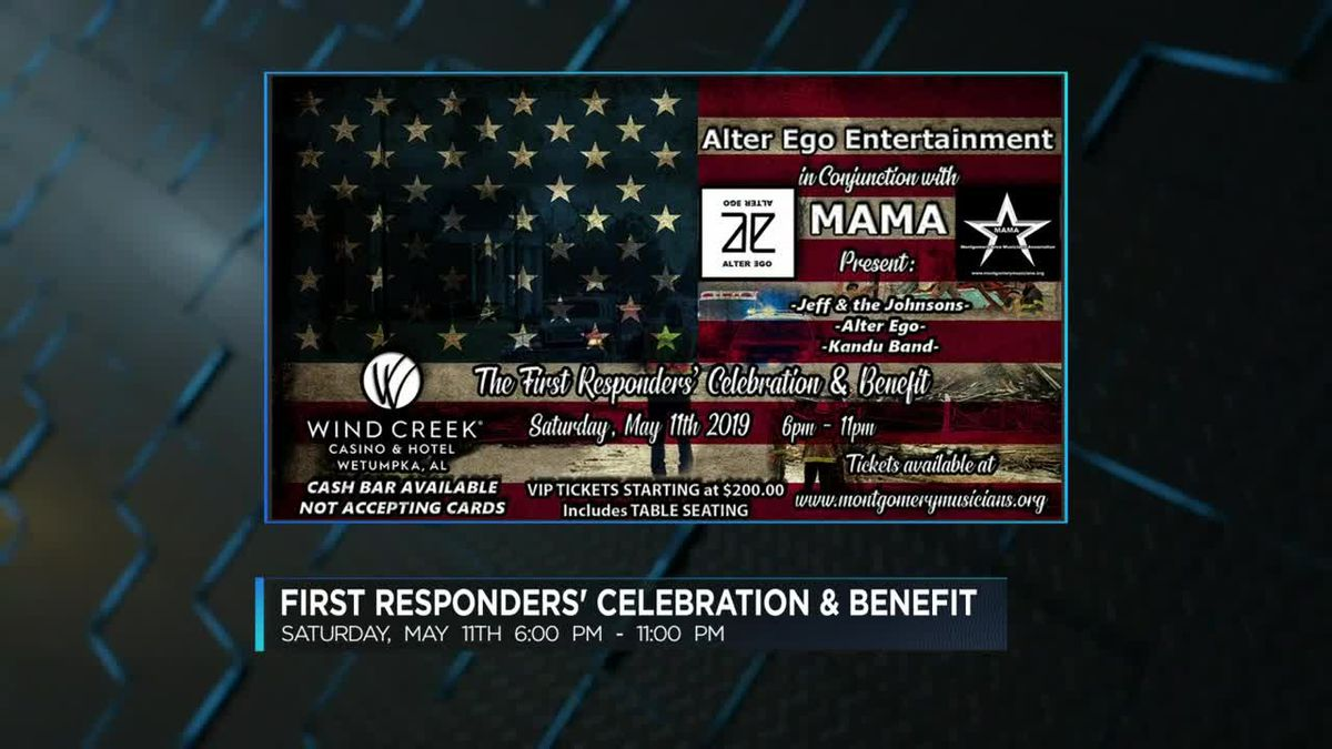Benefit concert to show appreciation for first responders