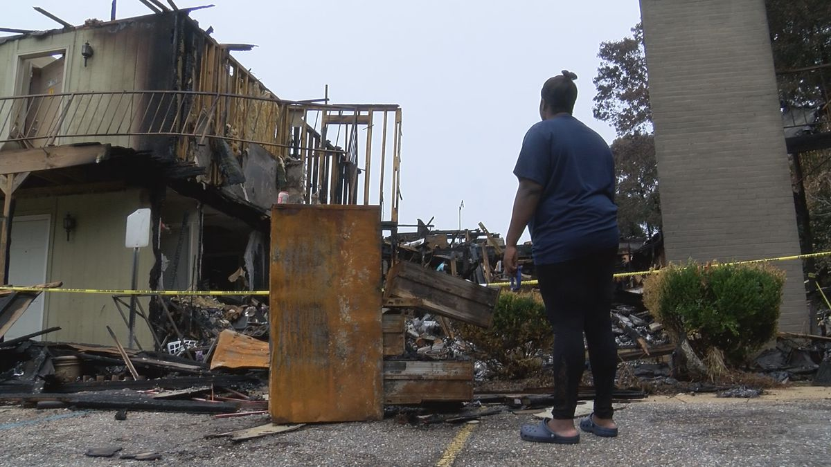'I'm devastated': Prattville apartment fire victim loses everything