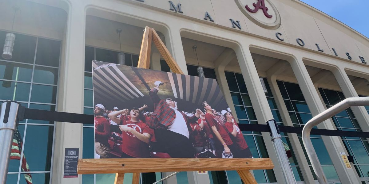 Memorial gift fund set up in remembrance of Alabama super fan Luke Ratliff, aka Fluffopotamus