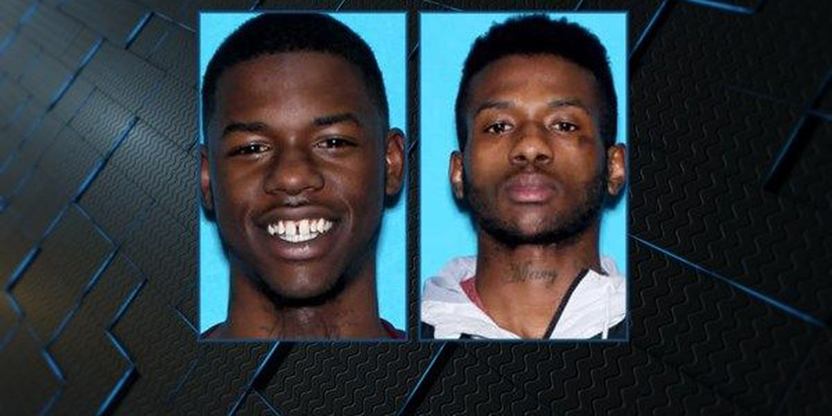 2 in custody, third wanted after burglary and armed robbery