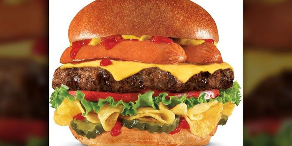 Hardee's goes patriotic with 'Most American' burger