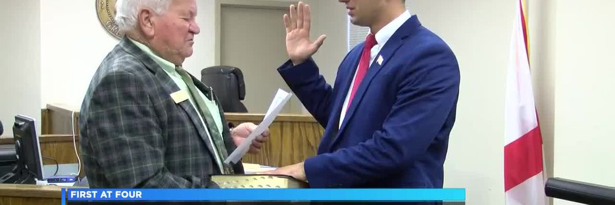 18-year-old sworn in as Geneva County commissioner