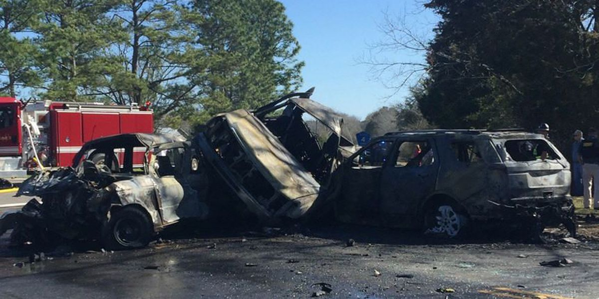 Motorists identified in fiery Geneva Co. crash that left 1 dead, 5 injured