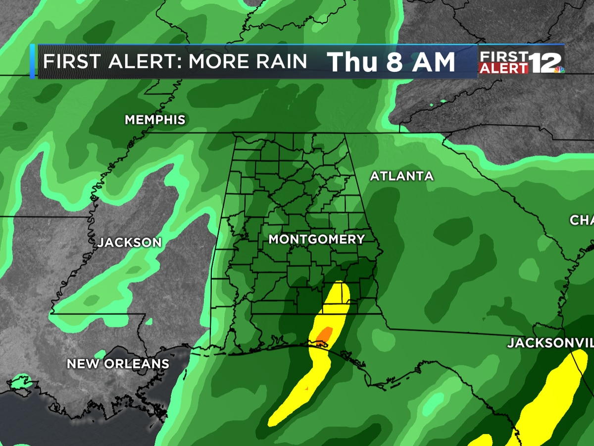 First Alert: One more sunny day before rain returns