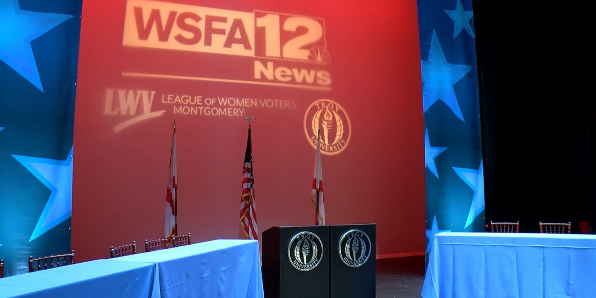Montgomery Mayoral Forum live on WSFA 12 News Wednesday night