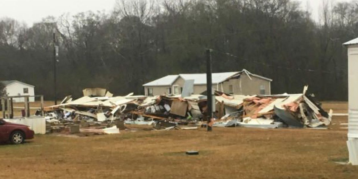 NWS preliminary report shows damage in Chilton County from EF-0 tornado