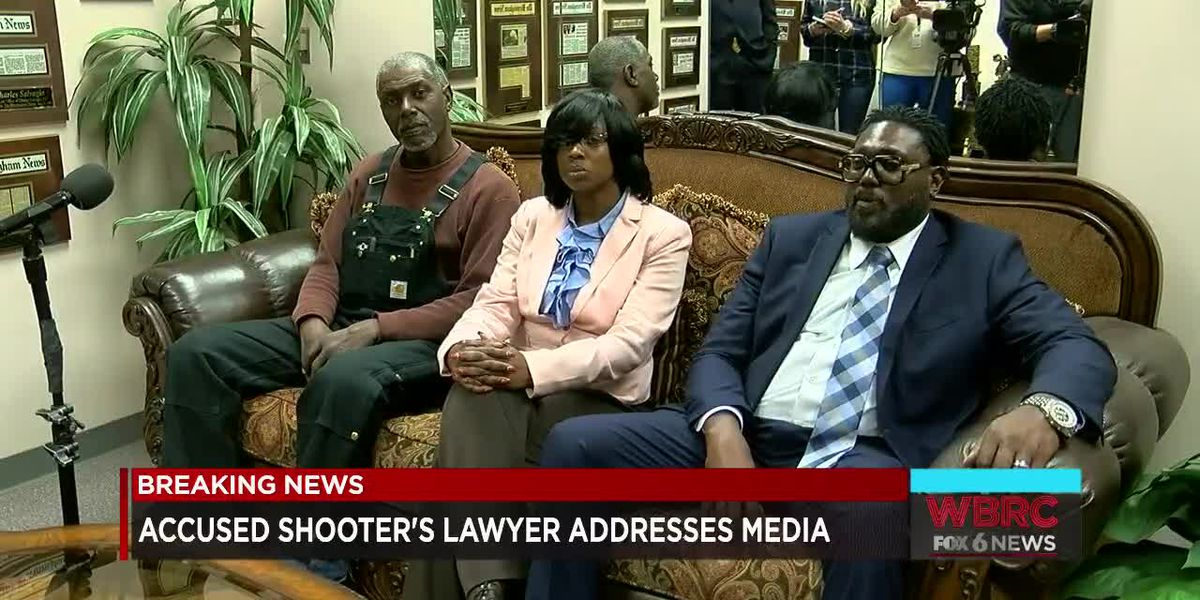Attorney for accused Riverchase Galleria shooter holds news conference with family