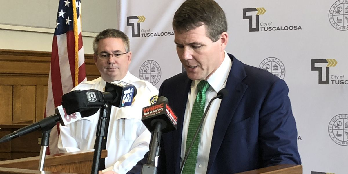 Tuscaloosa Mayor Walt Maddox issues 24-hour curfew, asking residents to stay home