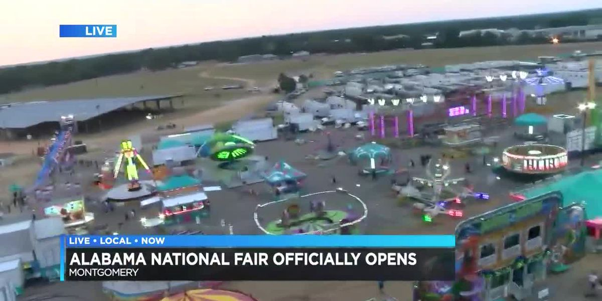 Alabama National Fair GM Randy Stephenson discusses opening day