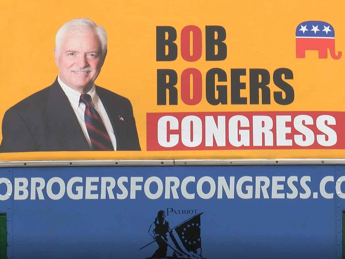 US House District 2 candidate Bob Rogers