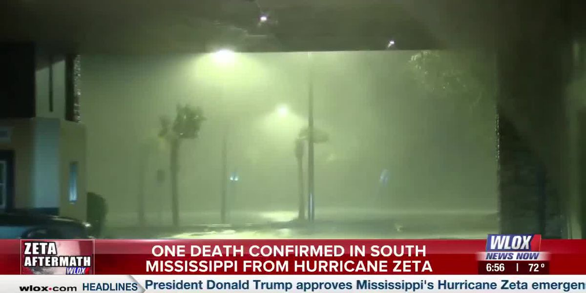 UPDATE: Man identified in South Mississippi Hurricane Zeta death