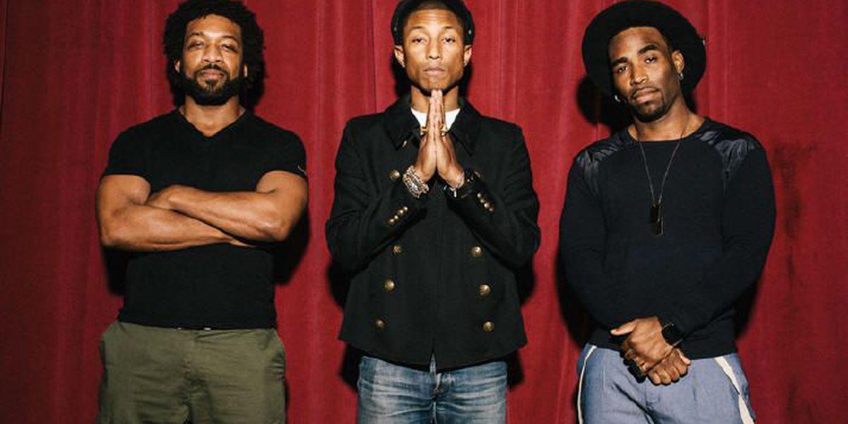 Rapper Pharrell co-signs Alabama musical group