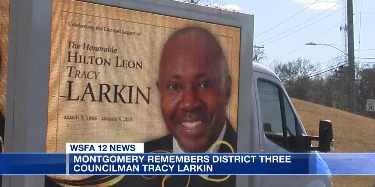 Montgomery remembers District 3 Councilman Tracy Larkin