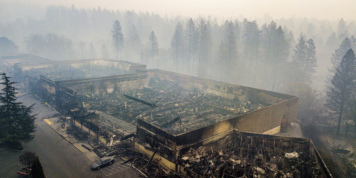 Utility asked last month to hike bills over California fires