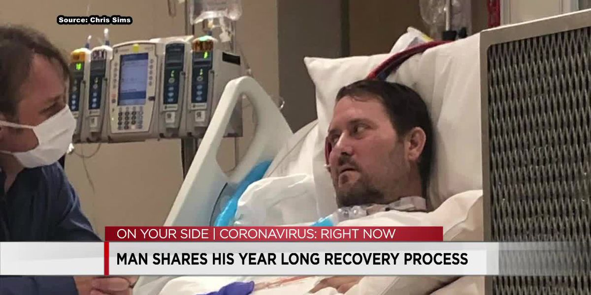 Alabama man reflects on recovery one year after COVID-19