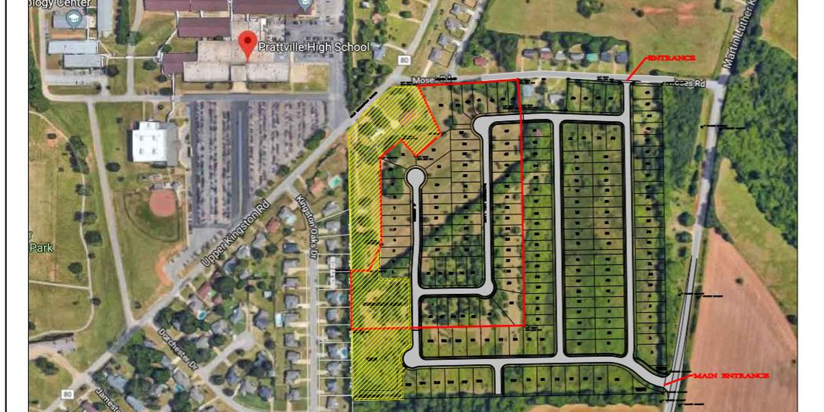 Property near Prattville High School rezoned despite opposition
