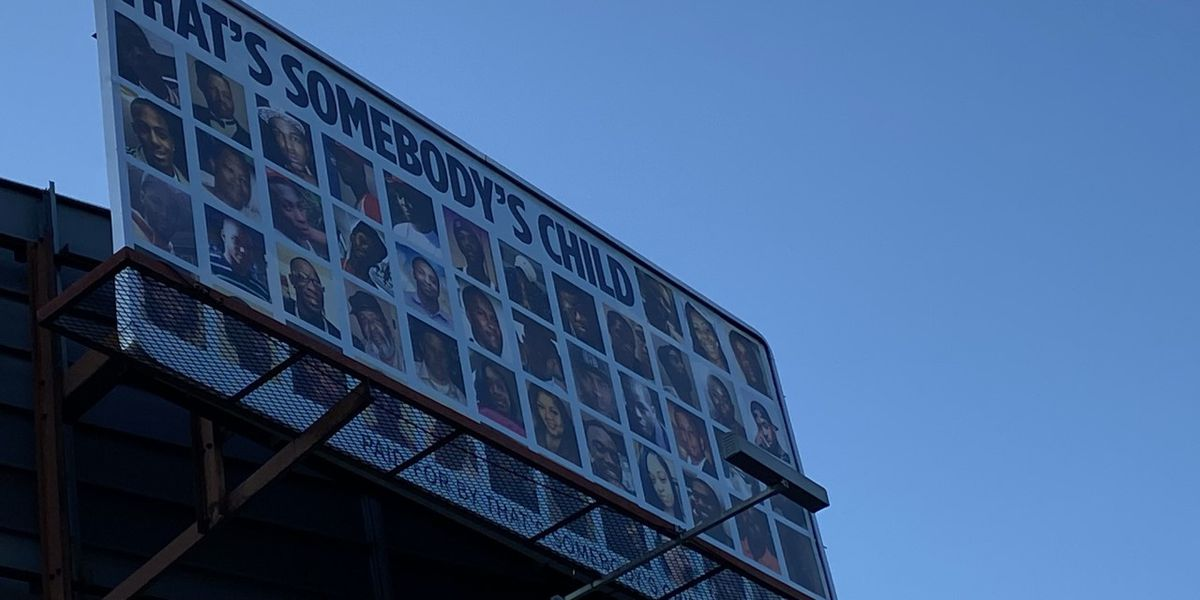 Montgomery homicide victims remembered through billboard