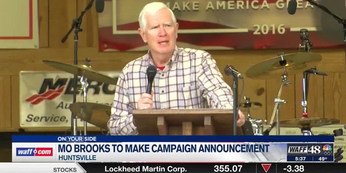 Mo Brooks receives Senate endorsement from former President Donald Trump