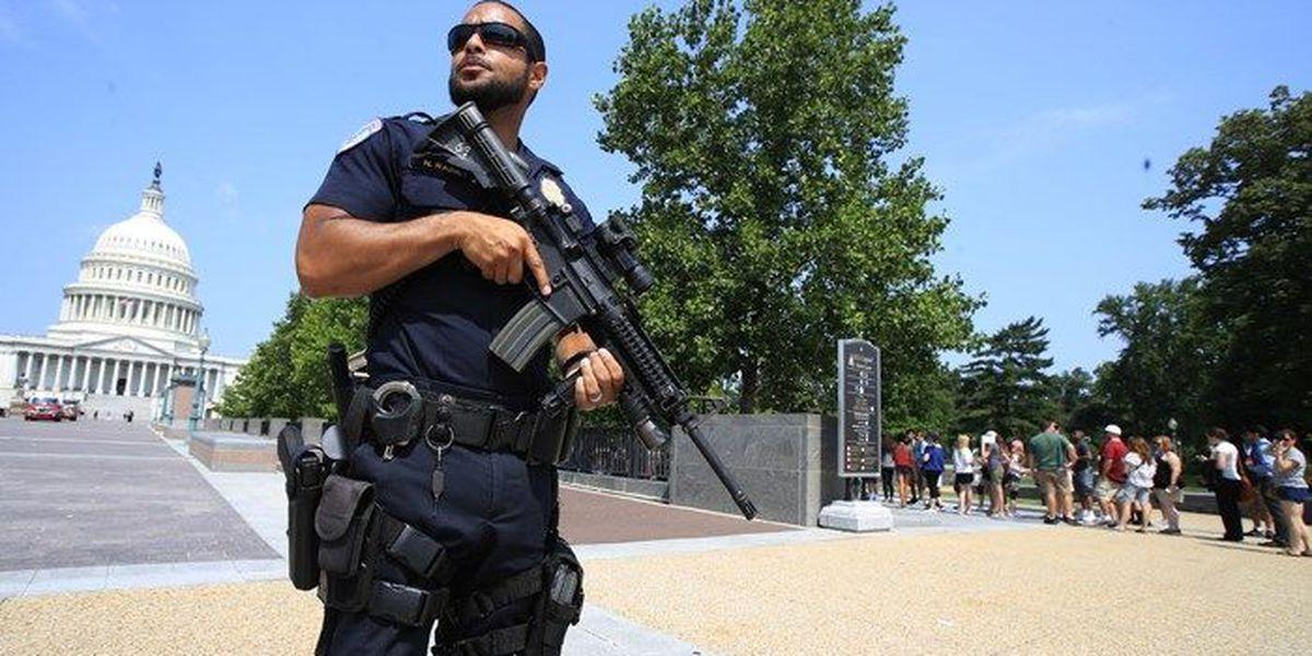 Capitol police hailed as heroes in Virginia shooting
