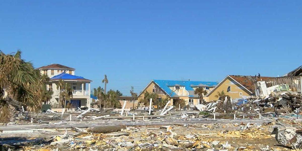 Mexico Beach, FL still in shambles, 3 months after Hurricane Michael