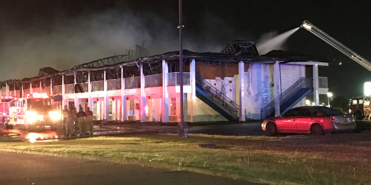Mayor: Fire consuming Greenville hotel brought under control