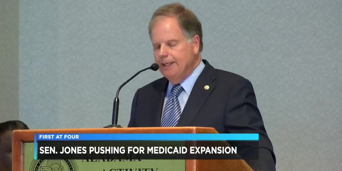 Sen. Jones pushes for Medicaid expansion