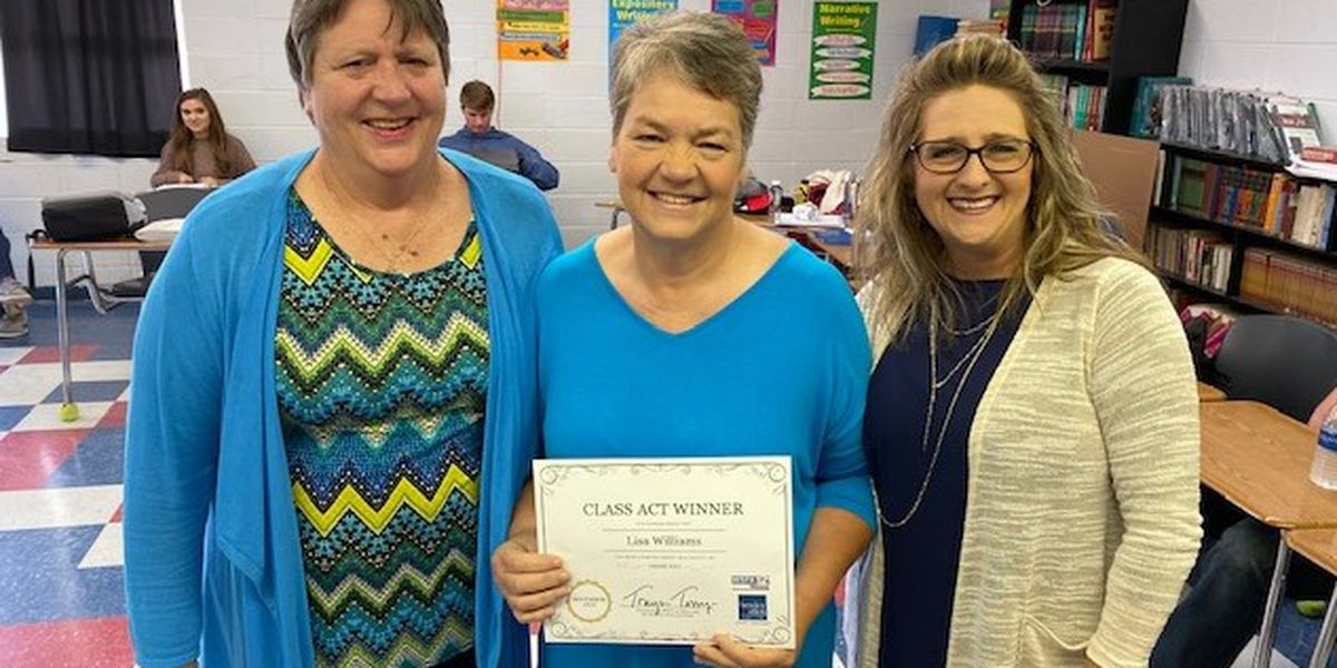 Class Act winner says decades of teaching shows what's important