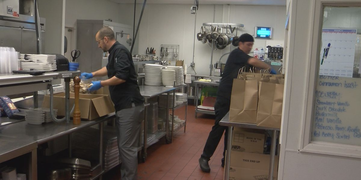 Executive chef cooks family meals for staff following restaurant layoffs