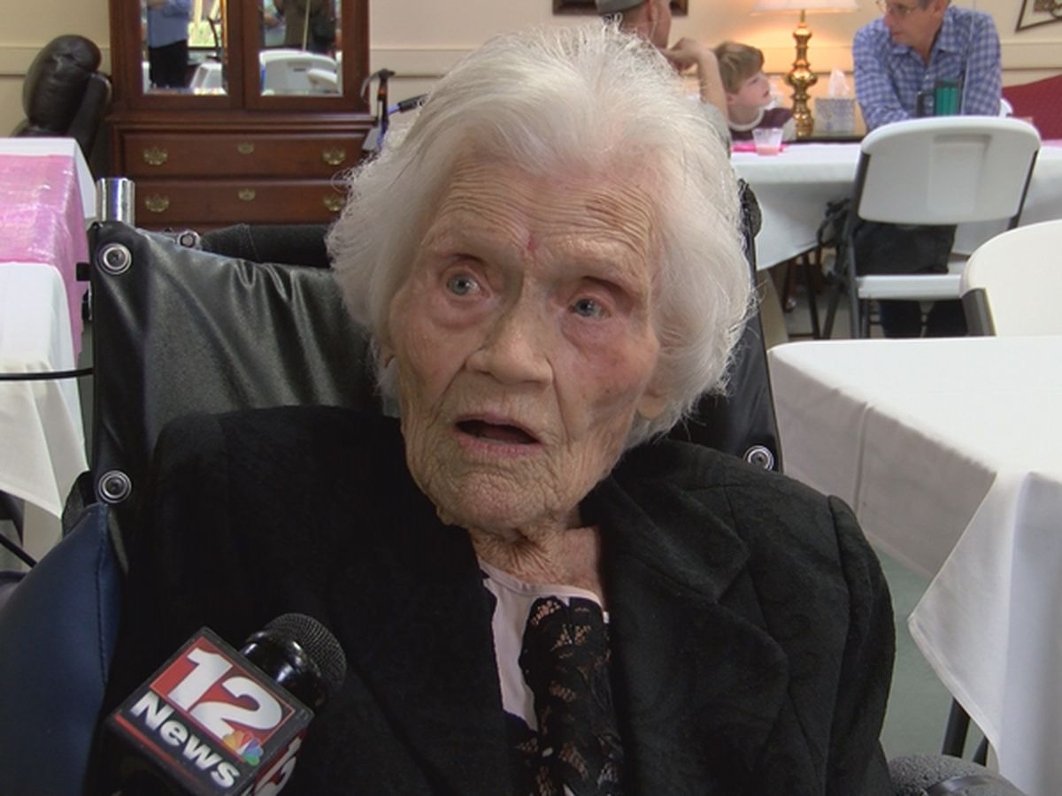 Montgomery woman celebrates 107th birthday!
