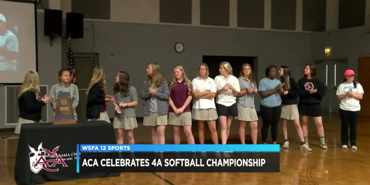 ACA celebrates 4A softball championship