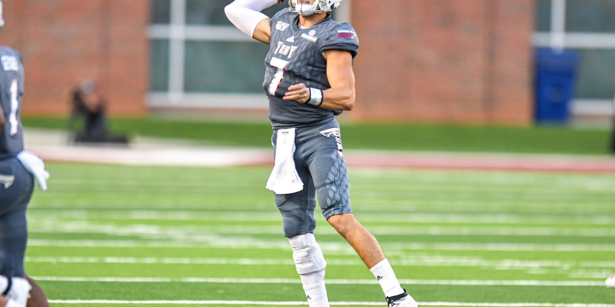 Troy gives up 50 points in loss in Sun Belt Conference opener