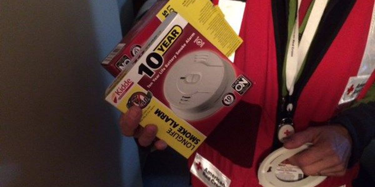 Nearly 40 Montgomery families get new, free fire alarms