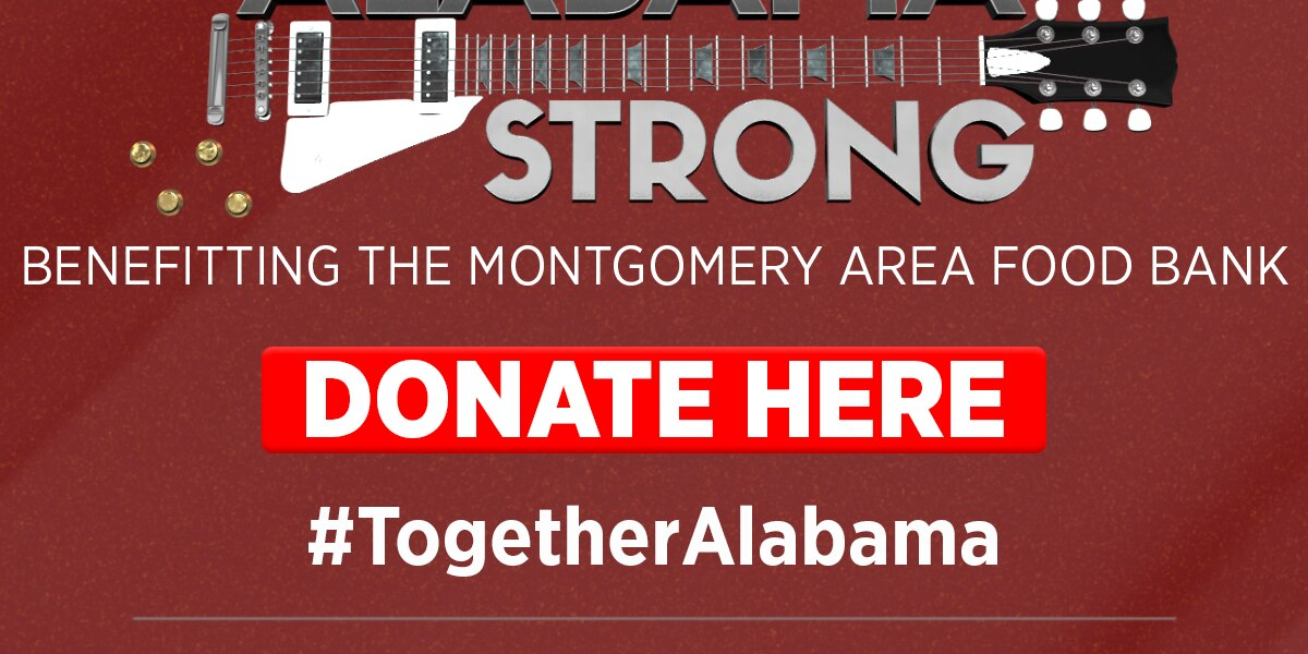 'Alabama Strong' concert benefits Montgomery Area Food Bank