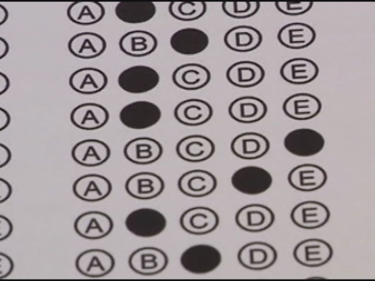 ACT test scores drop across Alabama, US